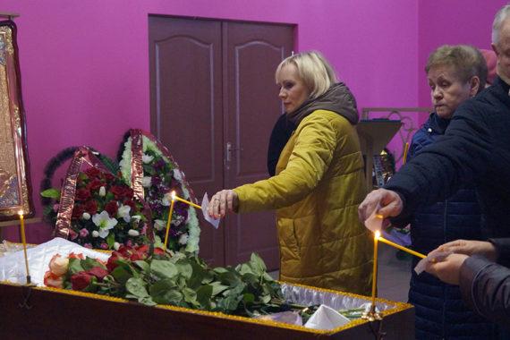 Церемония прощания с Белкиной Ниной Леонтьевной в ритуальном зале РМК