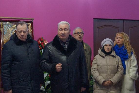 Церемония прощания с Клавдией Дмитриевной Васильевой, старейшим ветераном ВОВ, в ритуальном зале РМК