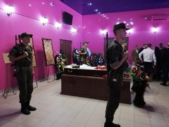 Прощание со старейшим подводником планеты в ритуальном зале РМК