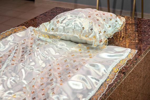 Покрывала, подушки в гроб, ритуальные принадлежности и ритуальные услуги в Тамбове